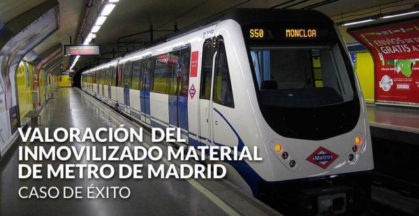 Gesvalt realiza la valoración del inmovilizado material de Metro de Madrid