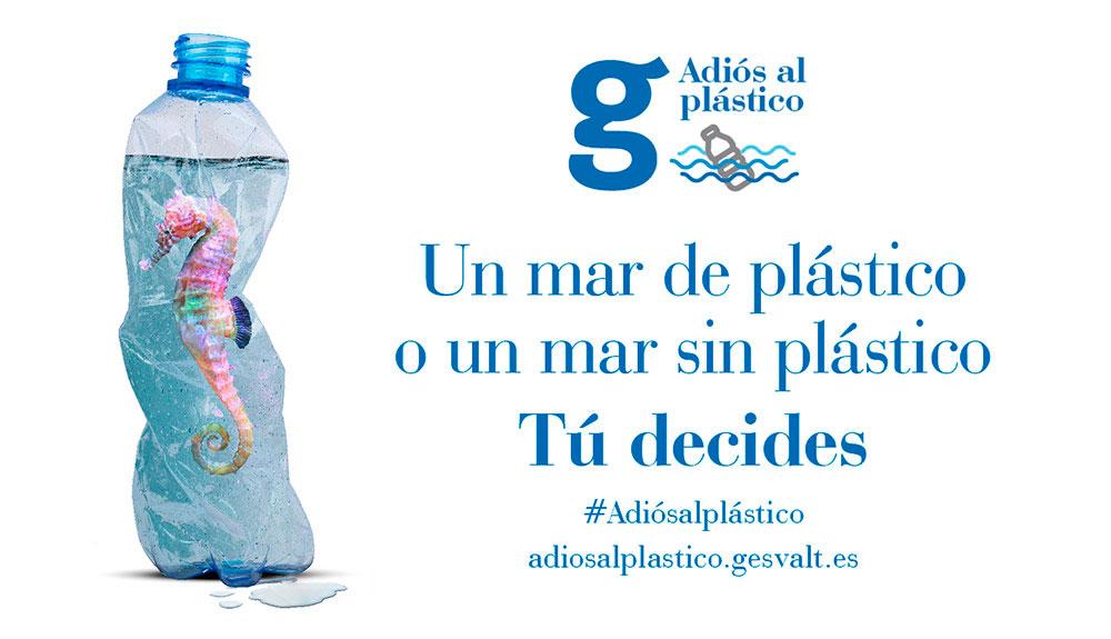 Gesvalt se compromete con la preservación del océano y crea una campaña para decir adiós al plástico