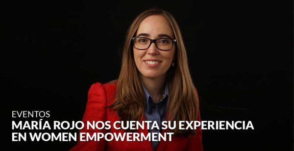 La joven arquitecta María Rojo nos cuenta su experiencia como mentorizada del programa Business Women Empowerment