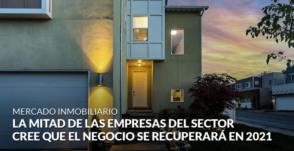 La mitad de las empresas del sector inmobiliario cree que el negocio se recuperará del impacto del Covid en 2021
