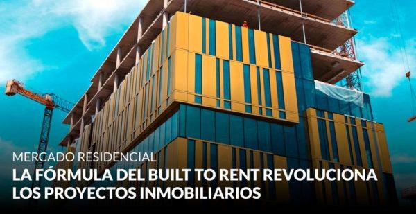 La fórmula del built to rent revoluciona los proyectos inmobiliarios