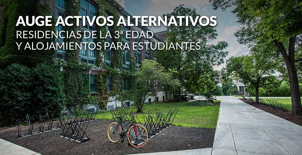 Auge de los activos alternativos: residencias de la tercera edad y alojamientos para estudiantes en la mira del inversor