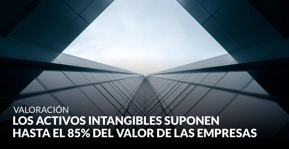 Los activos intangibles suponen hasta el 85% del valor de las empresas