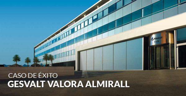 Gesvalt realiza la valoración del laboratorio farmacéutico Almirall