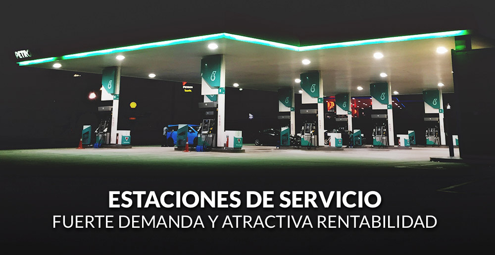 Estaciones de servicio: fuerte demanda y atractiva rentabilidad
