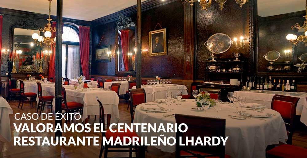 Valoramos el centenario restaurante madrileño Lhardy