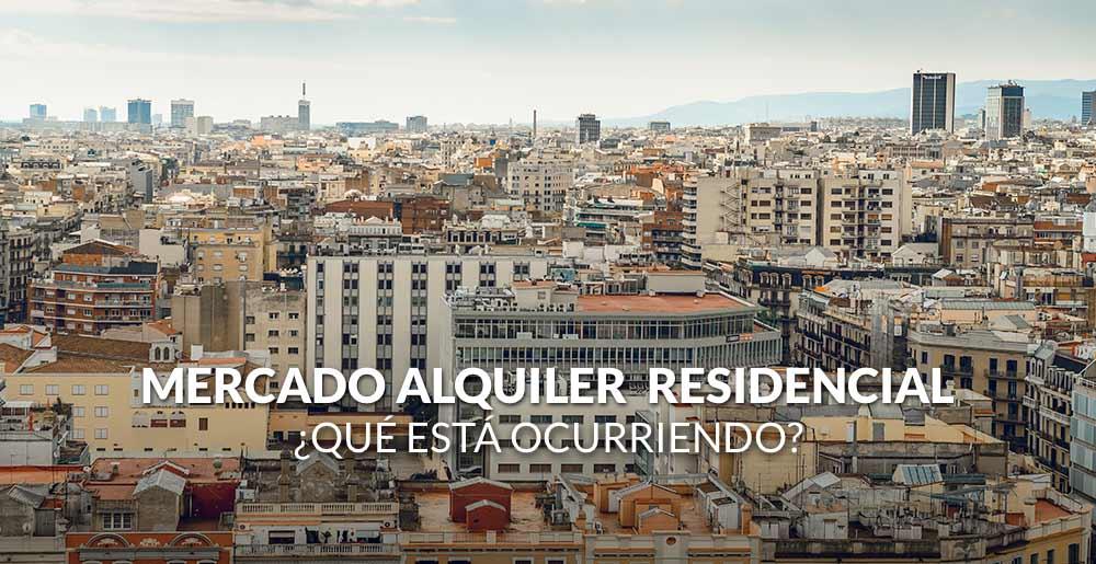 ¿Qué está ocurriendo con el alquiler residencial en España?