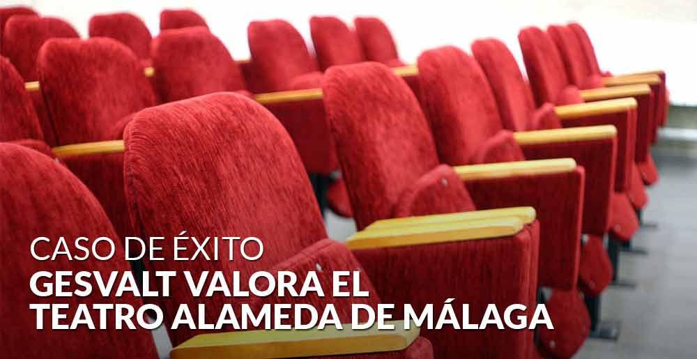 Gesvalt valora el emblemático Teatro Alameda de Málaga, el nuevo Soho de Antonio Banderas